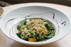 Spinach quinoa salad