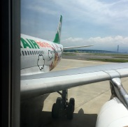 From the jetway