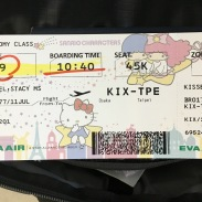Cutest boarding pass ever!